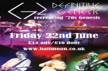 G2: Definitive Genesis Tribute Live at The Half Moon Putney