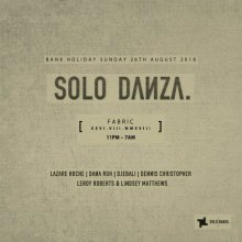 Solo Danza Bank Holiday with Lazare Hoche, Dana Ruh & More