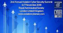2nd annual Aviation Cyber Security Summit in London, November 2018
