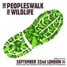 The People's Walk for Wildlife with Chris Packham