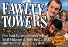 Fawlty Towers Interactive Dinner Show Thurrock
