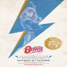 Absolute Bowie: 45th Anniversary of Aladdin Sane Live in Putney London