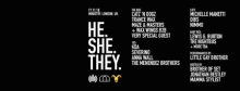 He.She.They at Ministry of Sound with Catz n' Dogz, Trance Wax and more