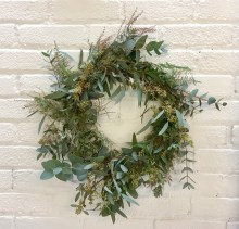 Christmas Wreath Making Workshop with Capital Gardens
