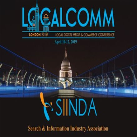 LOCALCOMM – The Local Digital Media and Commerce Conference, London 2019