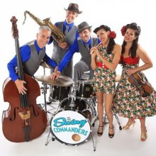 The Swing Commanders play jump jazz and swing at Hideaway