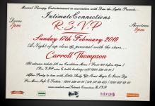 Intimate Connections – RSVP