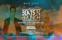 Beats and Brunch at Madison Rooftop London