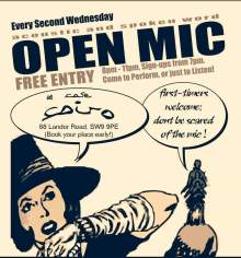 Cafe Cairo Open Mic.