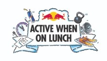 Red Bull Active When on Lunch. Free Lunchtime Fitness Classes in May