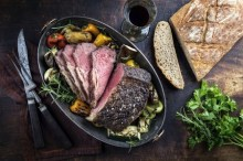 Sunday  Roast at Geales Restaurant Nothing-hill