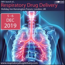 SMi's Inaugural Conference: Respiratory Drug Delivery 2019