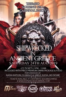 Shipwrecked Carnival All Inclusive Party – Soca, Dancehall, Afrobeats, RnB