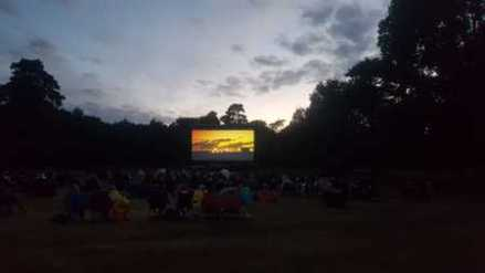 Top Gun and The Greatest Showman on Brownsea Island