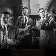 Join the thrilling Jazzbomb for Sunday lunch at Hideaway Jazz Club