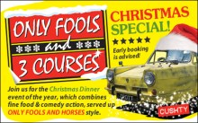 Only Fools and 3 Courses XMAS Special Dinner Thurrock 30/11/2019