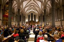 Advocate and LawWorks Christmas Carol Concert