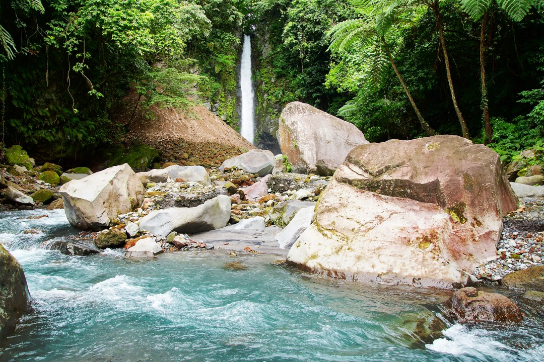Camiguin Island Forest Waterfall