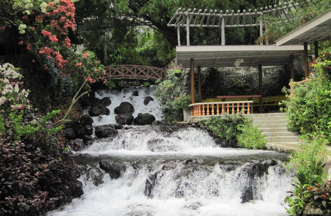 Stay at Timoga Falls Resort right beside Timoga Falls in Iligan City
