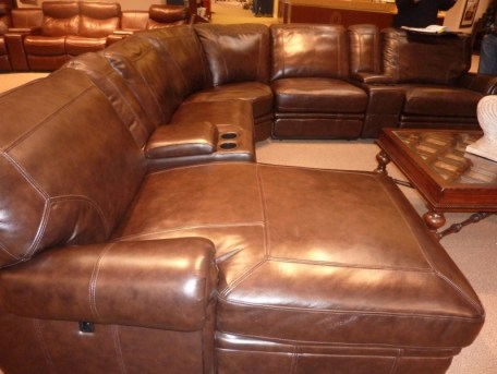 Reclining Leather Sectional, sectional sofas