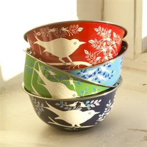 Bird bowl, bird decorating accessories