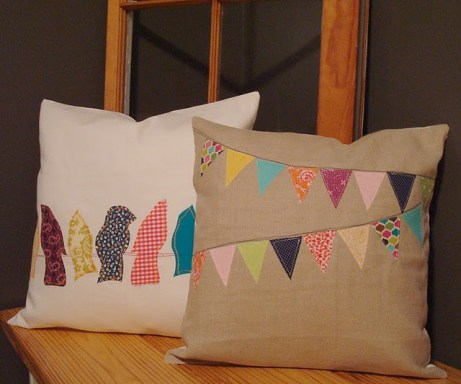 bird decor for home, diy bird pillows