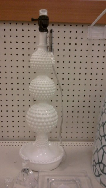 white lamp base, home decor at Target