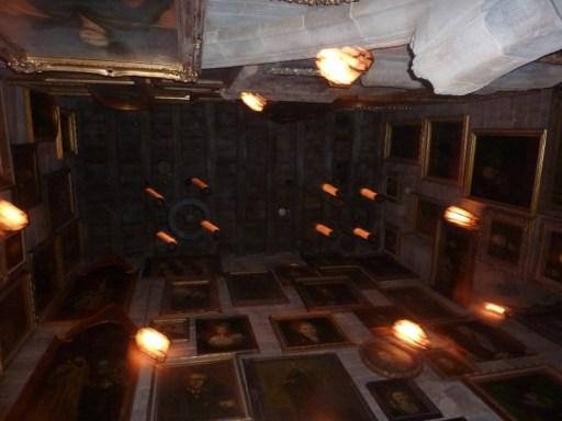 Hogwarts gallery wall