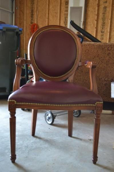 craigslist chair, diy chair refinishing
