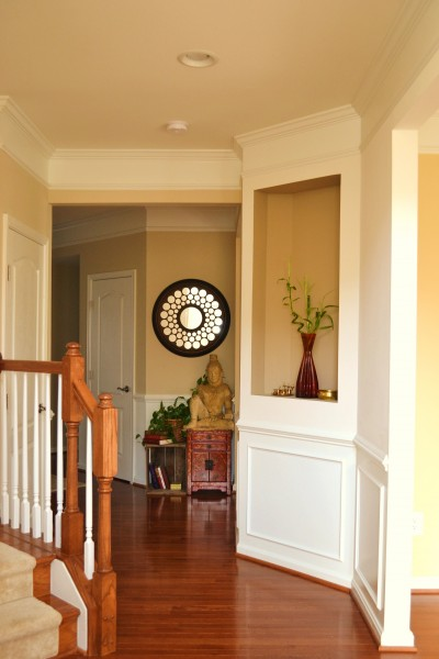 Foyer tweak whats ur home story for Foyer paint color decorating ideas