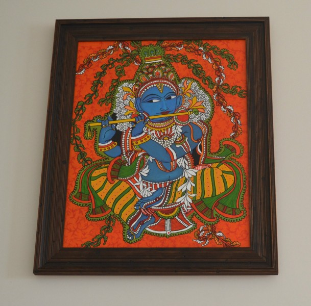 How to frame a painting whats ur home story for Canvas mural painting