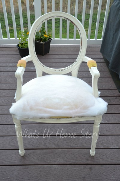 chalk paint chair makeover, diy chair makeover using Annie Sloan chalk paint