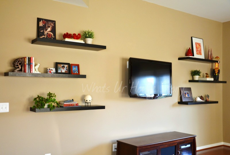 Whats Ur Home Story: IKEA Floating Shelves, floating shelves