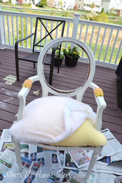 How to use Chalk paint to makeover a chair