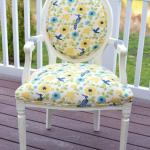Annie Sloan Chalk Paint Chair Makeover