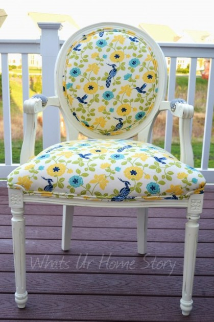 Whats Ur Home Story: chalk paint chair makeover