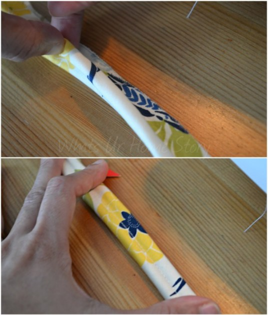 How to sew a double welt cord