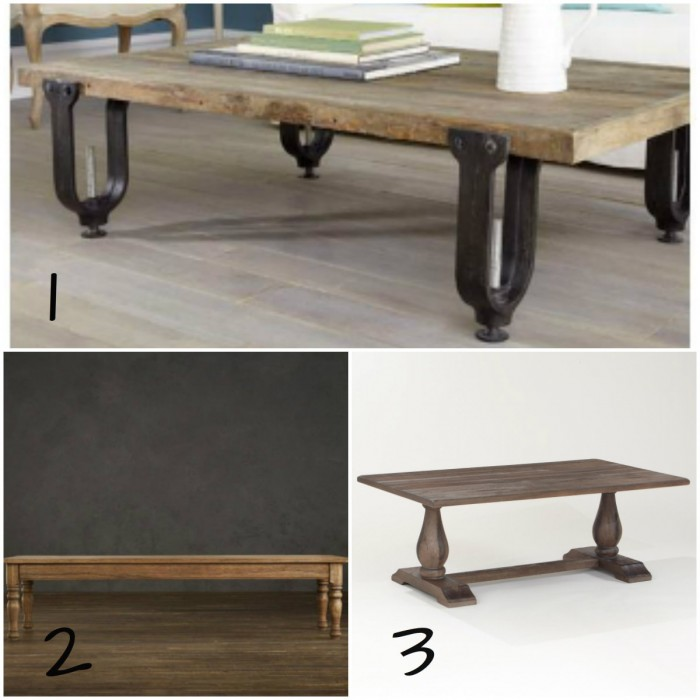 rustic coffee table, Sophisticated Family Room