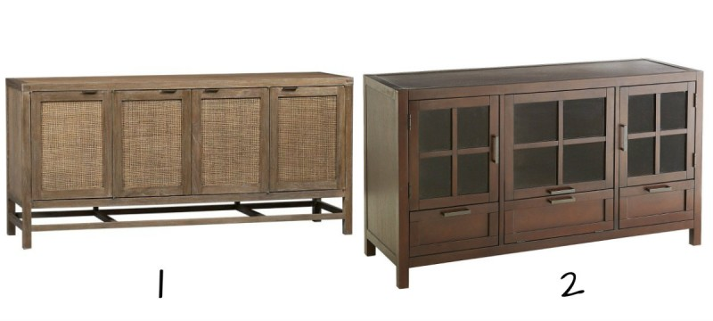 rustic media console, Sophisticated Family Room