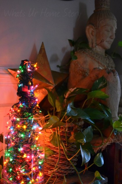 Whats Ur Home Story: Christmas Decor, Mini Light Christmas Tree,christmas decorating