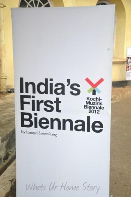 Whats Ur Home Story : Kochi Muziris Biennale 2012