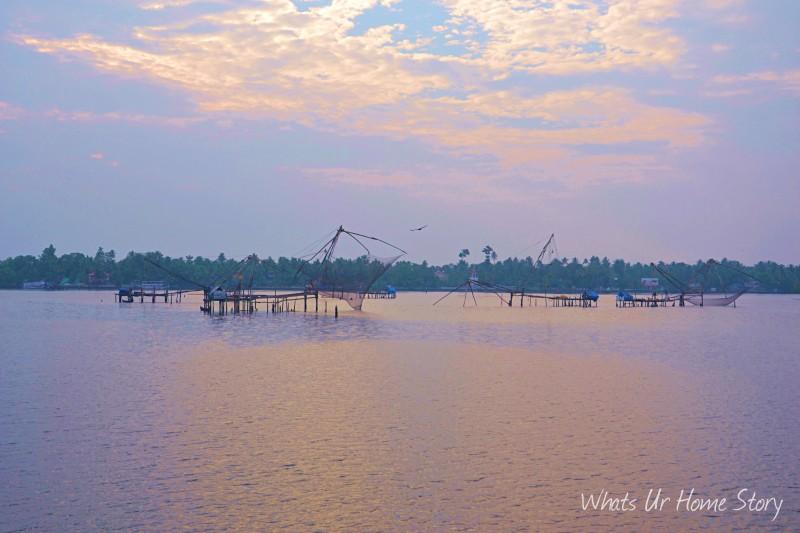 Whats Ur Home Story : Chinese Fishing nets, Fort Kochi, Kerala Chinese fishing nets