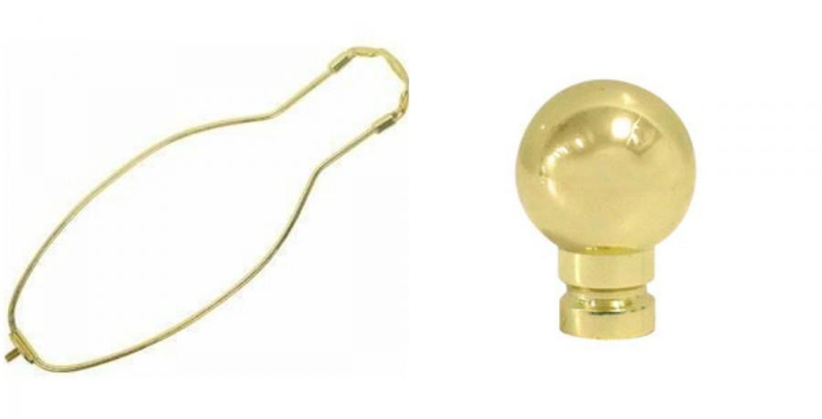 Whats Ur Home Story: Lamp finial, lamp harp