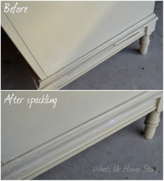 Whats Ur Home Story: dresser makeover