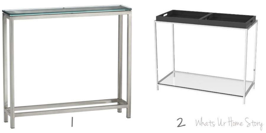 Whats Ur Home Story: Crate and Barrel Era Console Table