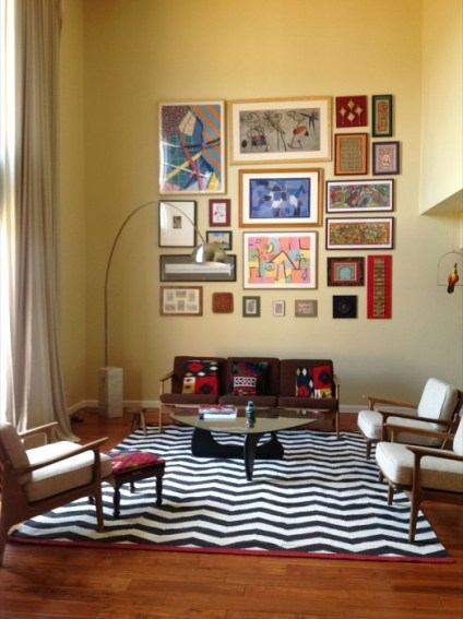 Whats Ur Home Story: Mid Century Modern Living Room