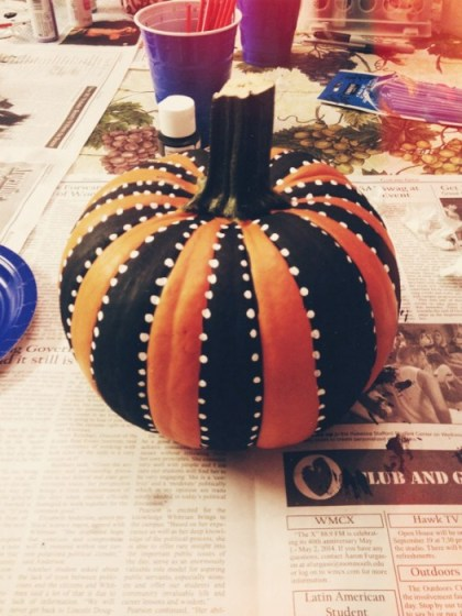 Painted pumpkin, Easy DIY Pumpkin Decorating Ideas