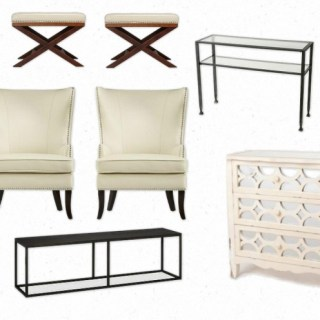 Same Look 4 Less – Sophisticated Living Room