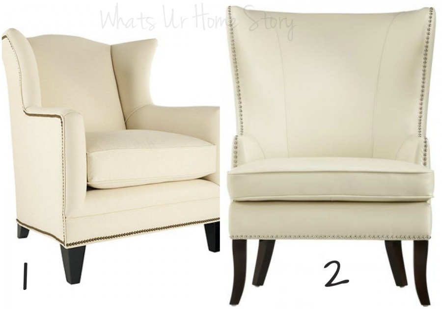 modern wing back chair, sophisticated living rooms, home decorator's wing back chair
