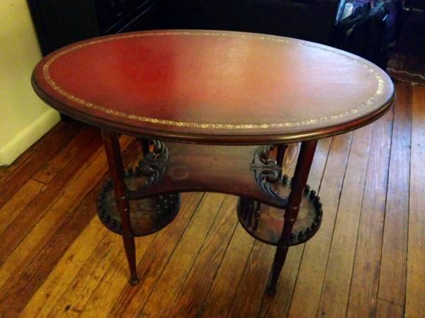 vintage side table, vintage bar cart, craigslist bargains